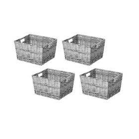 Member's Mark Decorative Woven Storage Baskets (Set of 4)
