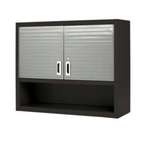 Seville Classics UltraHD Wall Cabinet with Open Shelf