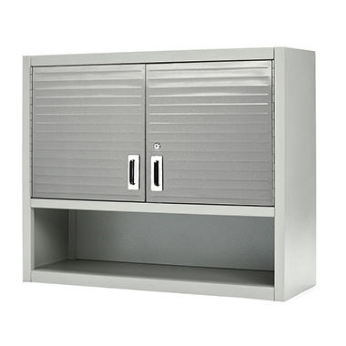 Seville Classics UltraHD Wall Cabinet with Open Shelf ...