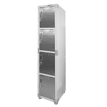 Seville Classics UltraHD 4-Door Locker Cabinet