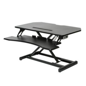 "Seville Classics AIRLIFT 33"" Electric Standing Desk Converter"