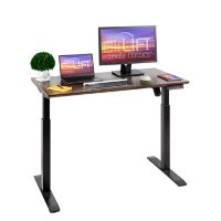 """Seville Classics airLIFT 48"""" Height Adjustable Electric Sit-Stand Desk"""