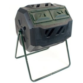 Mr.Spin 43-Gallon Dual Chamber Compost Tumbler