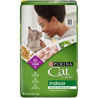 Purina Cat Chow Indoor Dry Cat Food, Hairball + Healthy Weight - 25 lb. Bag