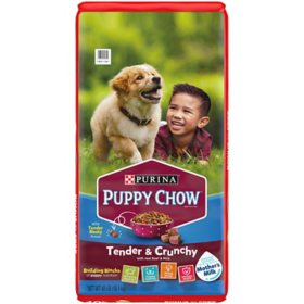 Purina Puppy Chow Tender & Crunchy Dry Dog Food (40 lbs.)