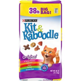 Purina Kit & Kaboodle Original Adult Dry Cat Food (38 lbs.)