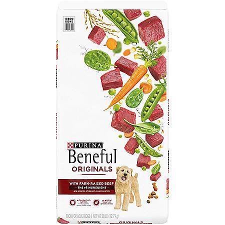Purina Beneful Originals with Farm Raised Beef Adult Dry Dog Food (28 lbs.)