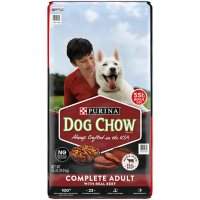 Purina Dog Chow Dry Dog Food, Complete Adult with Real Beef (55 lb.)