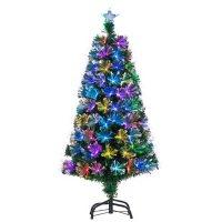 4' Color-Changing Fiber Optic Tree