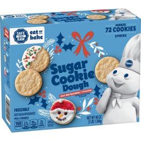 Pillsbury Sugar Cookies (3 lbs., 3 pk.)