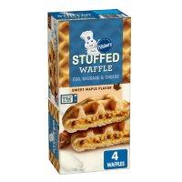 Pillsbury Sausage, Egg and Cheese Stuffed Waffle, Sweet Maple Flavor, Frozen (4 ct.)