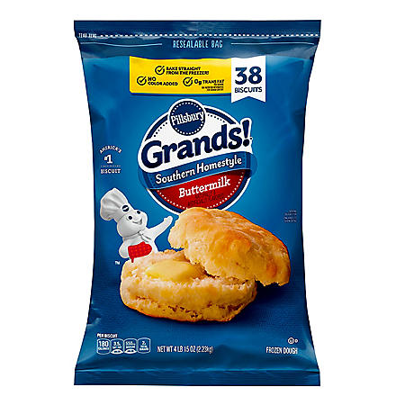 Pillsbury Grands Southern Homestyle Buttermilk Biscuits 38 Ct