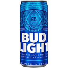 Bud Light Beer (10 oz cans, 24 pk.)