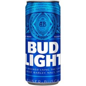 Bud Light Beer (10 oz cans, 24 pk.)
