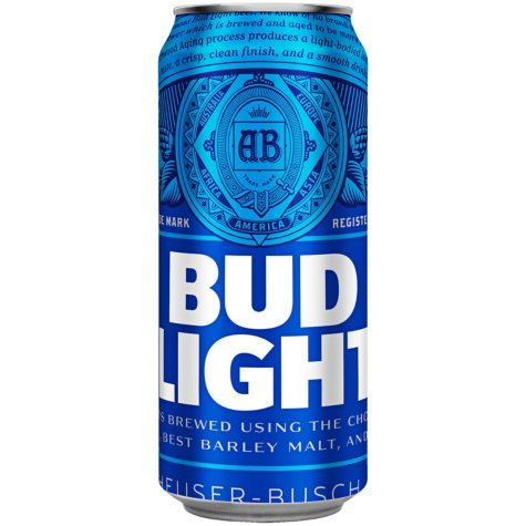 Bud Light Beer (16 fl. oz. can, 24 pk.)