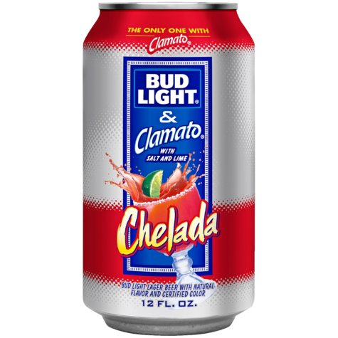 Bud Light & Clamato Chelada (12 fl. oz. can, 24 pk.)