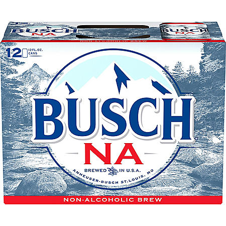 Busch Non-Alcoholic Beer (12 fl. oz. can, 12 pk.)