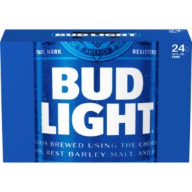 Bud Light Beer (12 oz. cans, 24 pk.)