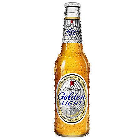 Michelob Golden Light Draft Beer (12 fl. oz. bottle, 12 pk.)
