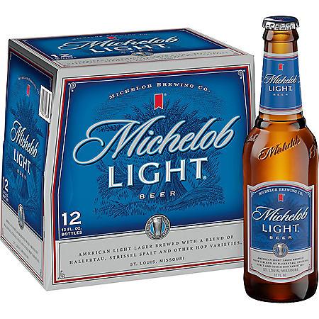Michelob Light Beer (12 fl. oz. bottle, 12 pk.)