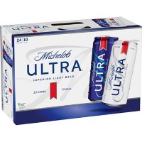 Michelob Ultra Superior Light Beer (10 fl. oz. can, 24 pk.)