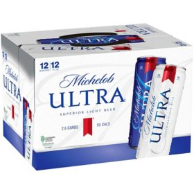 Michelob Ultra Superior Light Beer (12 fl. oz. can, 12 pk.)