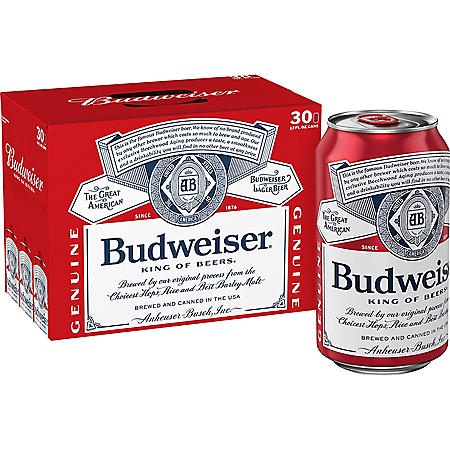 Budweiser (12 fl. oz. can, 30 pk.)