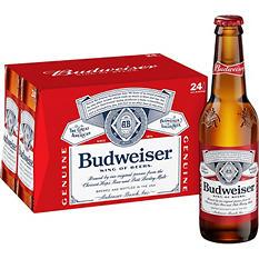 Budweiser (12 fl. oz. bottle, 24 pk.)