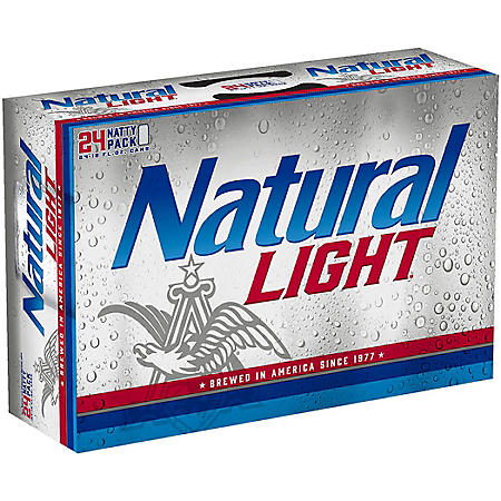 Natural Light Beer (12 fl. oz. cans, 24 pk.)
