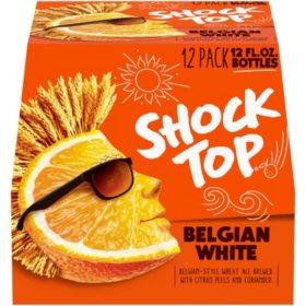 Shock Top Belgian White Ale (12 fl. oz. bottle, 12 pk.)
