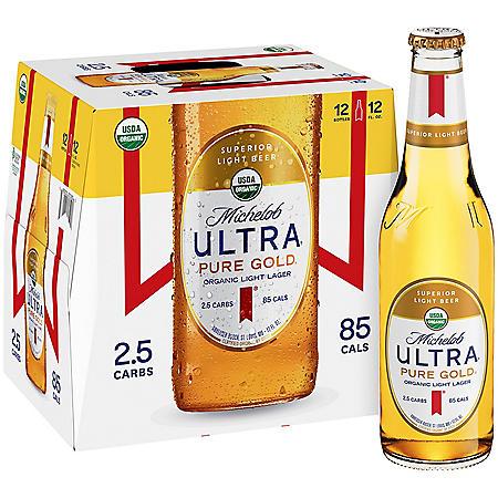Michelob Ultra Pure Gold (12 fl. oz. bottle, 12 pk.)