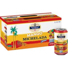 Estrella Jalisco Mango Michelada (12 fl. oz. can, 12 pk.)
