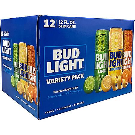 Bud Light Peels Variety Pack (12 fl. oz. can, 12 pk.)