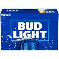 Bud Light Beer (16 fl. oz. can, 24 pk.)