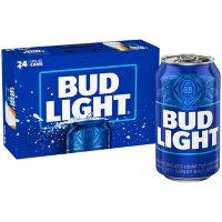 Bud Light Beer (12 fl. oz., can, 24 pk.)