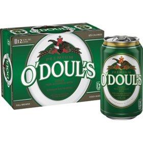 O'Doul's Non-Alcoholic Beer (12 fl. oz. can, 12 pk.)