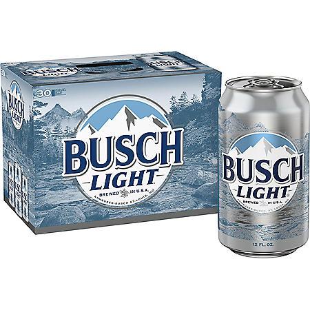Busch Light (12 fl. oz. can, 30 pk.)