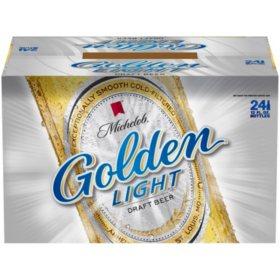 Michelob Golden Light Draft Beer (12 fl. oz. bottle, 24 pk.)