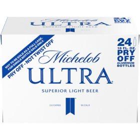Michelob Ultra Superior Light Beer (16 fl. oz. aluminum bottle, 24 pk.)