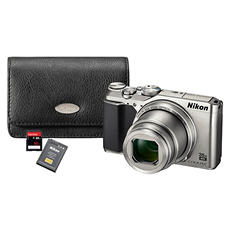 Nikon COOLPIX A900 20MP CMOS Sensor Digital Camera Bundle with 35x Optical Zoom, Camera Bag, and 32G SD card