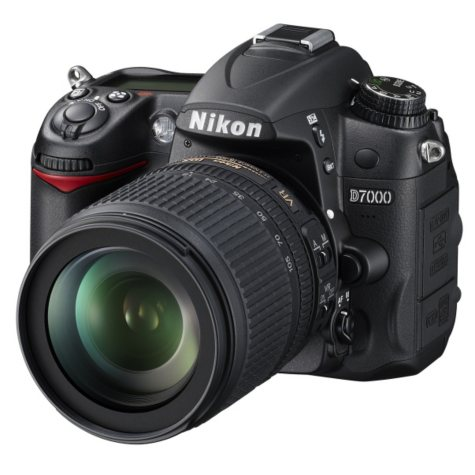 Nikon D7000 16.2MP Digital SLR Camera with 18-105mm f/3.5-5.6G AF-S DX VR ED Nikkor Lens