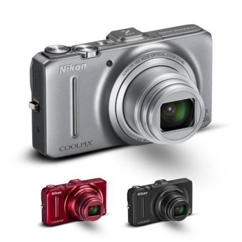 Nikon Coolpix S9300 16MP Digital Camera - Various Colors