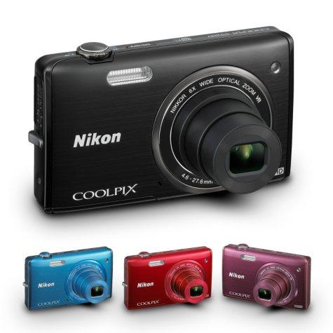 Nikon S5200 16MP Digital Camera with 6x Optical Zoom