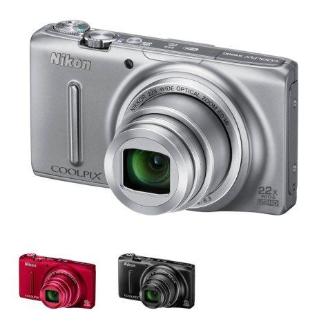 Nikon S9500 18MP Long Zoom Digital Camera with 22x Optical Zoom