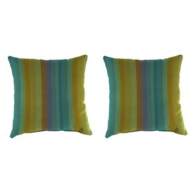 Sunbrella Throw Pillows, Set of 2 (Assorted Styles)