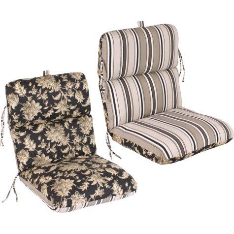 Replacement Patio Chair Cushion - Fallenton Coal/Armona Jet
