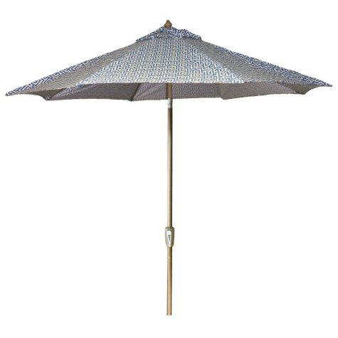 9' Aluminum Market Umbrella - Oskar Sea