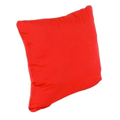 "16"" Square Toss Pillow - Jockey Red"