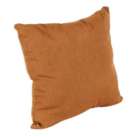 """16"""" Square Toss Pillow - Canvas Teak"""