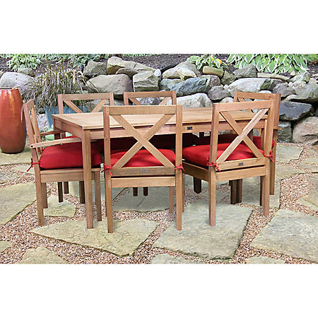 DINING CHAIR W/ARMS BROWN
